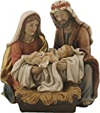 Figura de Natividad, Sagrada Familia Oriental, Altura de Bloque 13 cm (44635093797)