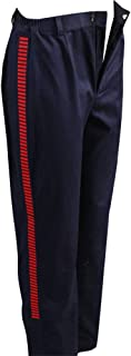 Men's Halloween Red Striped Pants for Han Solo Costume Belt Compatible Droid Caller Canister