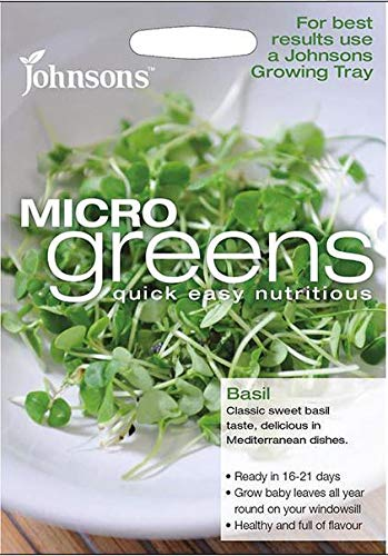 Portal Cool Johnsons - Salade - MicroGreen Basilic - 1500 graines