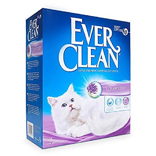 Ever Clean Arena para Gatos Lavender Cumpling, 10litros, Perfumada, 9000 g