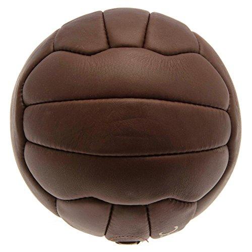 Liverpool FC - Balón oficial modelo Retro Heritage (Talla 5) (Marrón)