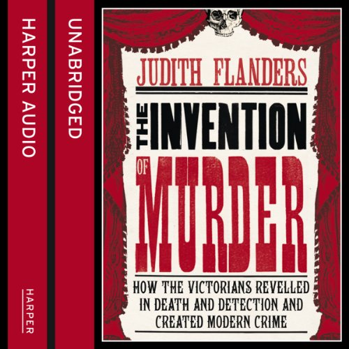 The Invention of Murder audiobook cover art