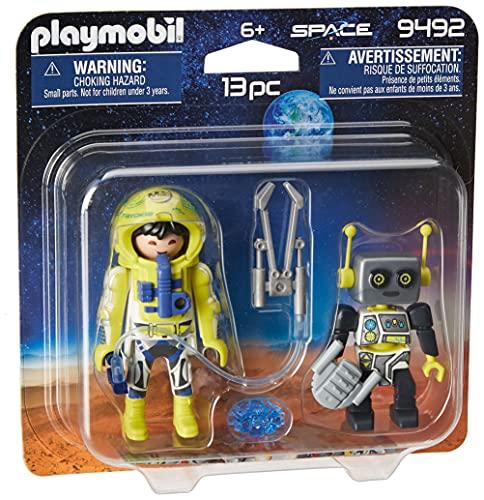 Playmobil Space -Astronauta e Robõ - 9492
