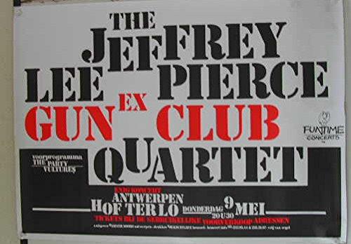 Lee Pierce Jeffrey - Gun Club Quartet - 63X88Cm Affiche / Poster
