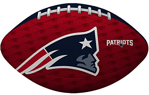Rawlings NFL Gridiron Junior-Size Youth Football, New England Patriots