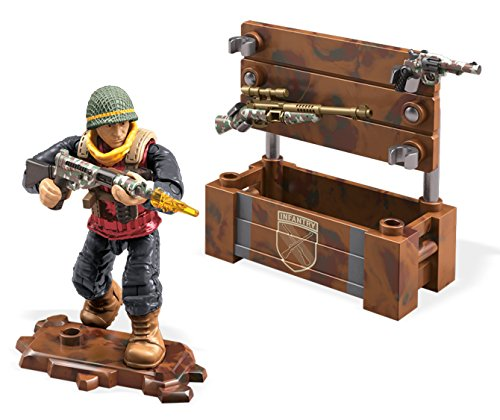 Mattel Mega Construx Call of Duty WWII Weapon Crate Care Package Building Set