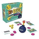 Hasbro Gaming F2562801 Ka-Blab juego para familias, adolescentes y niños, a partir de 10 años, juego de grupo 2 a 6 jugadores, por los creadores de Scattergories, Idioma Francés