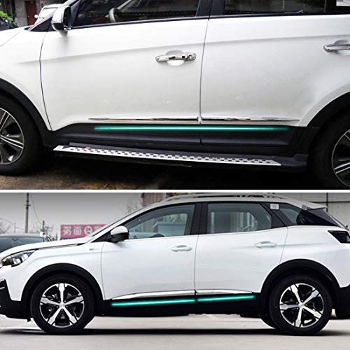 51hJlPRb39L - Wei Hongyu Auto-Außen-Zubehör, 4 Stück Universal-Autotür-Schutzstreifen