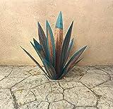 Scultura rustica di tequila, pianta di agave in metallo fai-da-te, giardino, decorazione artistica, scultura, decorazioni per la casa, scultura da giardino per interni ed esterni