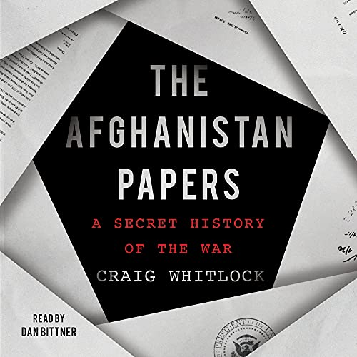 The Afghanistan Papers cover art