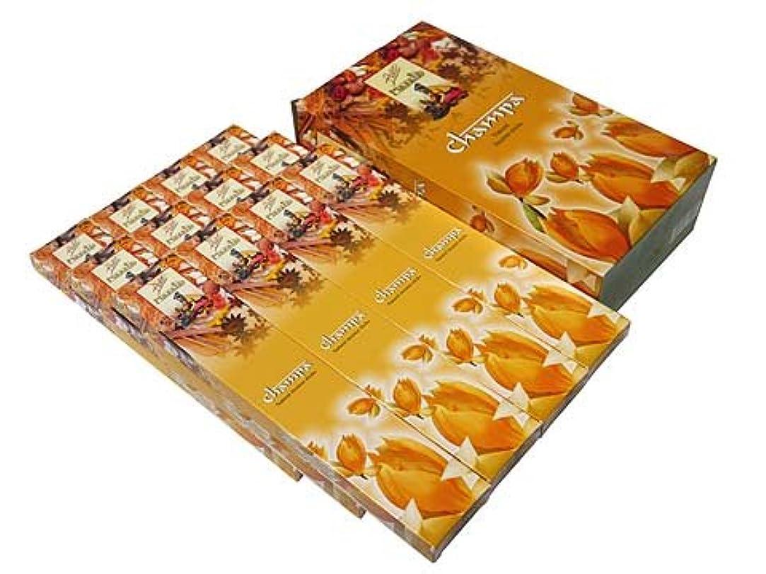 溝ぐったり松の木FLUTE(フルート) チャンパマサラ香 マサラスティック CHAMPA MASALA 12箱セット