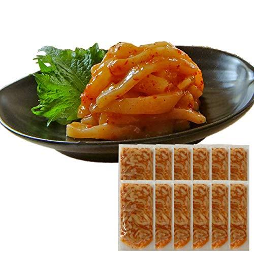 お中元 ギフト 辛いは美味い!イカキムチ60g×12袋 *14時までのご注文 ヤマキ食品 イカ屋荘三郎