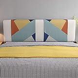 Kopfteil für Soft Case Tatami Bett Bett Rückenlehne Keilkissen, Lesen Kopfkissen Nackenrolle Tagesbett Etagenbett Mit Abnehmbarem Bezug-EIN König 5 Größen Erhältlich
