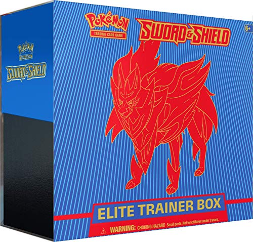 Pokemon Pokémon TCG: Sword & Shield Elite Trainer Box