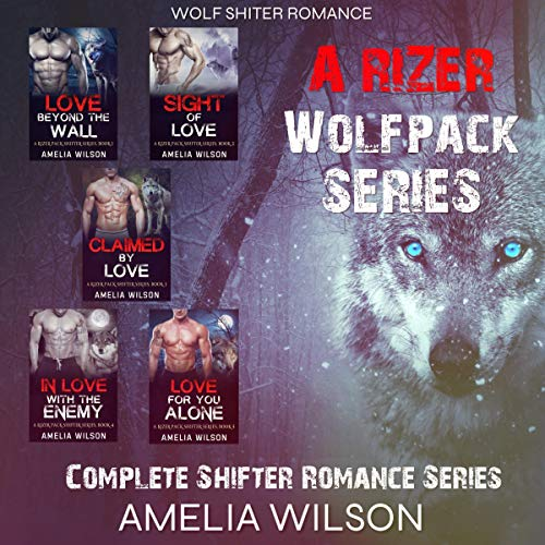 A Rizer Wolfpack Series audiobook cover art