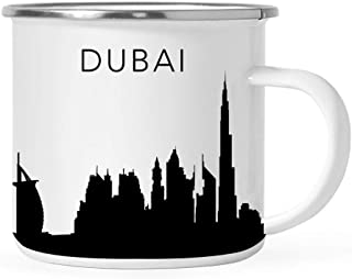 15-Ounce 3dRose Beach Hotel in Dubai Ceramic Mug