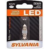 SYLVANIA ZEVO DE3175 31mm Festoon White LED Bulb, (Contains 1 Bulb)