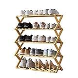 Hong Yi Fei-Shop Zapatero 5 Capas Zapatillas Plegables de la Capa gabinete de Zapatos Simple Multi-Capa Hogar práctico de Almacenamiento Zapatero de Tela (Color : A)