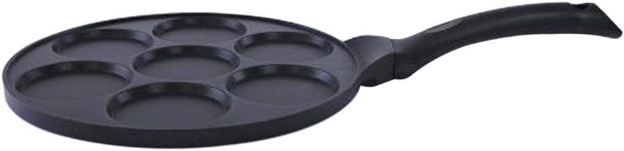 Royalford Rf5781 7-cups Pan Cake Maker, Black