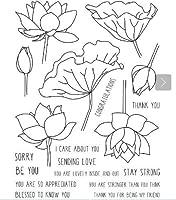 LOVELYLOTUS透明クリアシリコンスタンプ/DIYスクラップブッキング用シール/フォトアルバム装飾クリアスタンプA1819