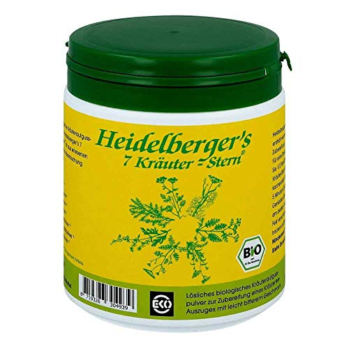 Heidelberger\'s 7 Kräuter-Stern Bio Teepulver, 250 g Tee