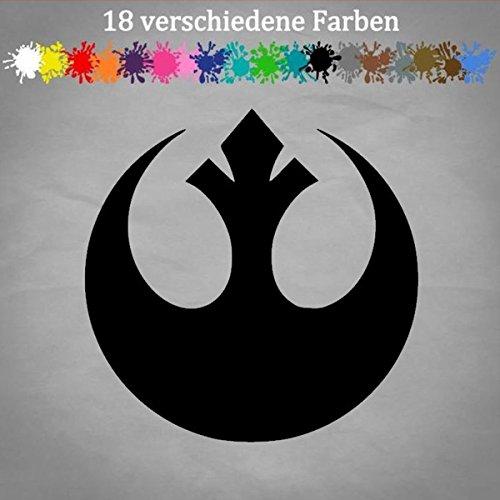 Generic Rebellion 12x12cm Star Wars Aufkleber Logo Allianz Darth Vader Sticker JDM Golf in 18 Farben