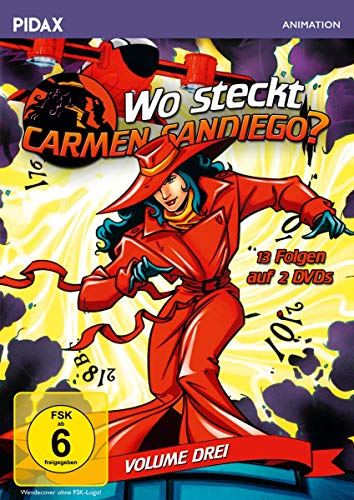 Wo steckt Carmen Sandiego?, Vol. 3 (2 DVDs)