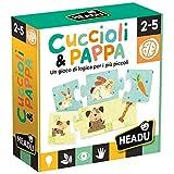 Headu- Cuccioli & Pappa Gioco, Multicolore, IT20058...