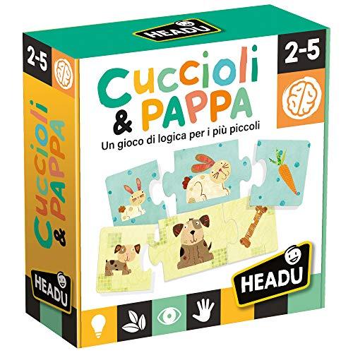 Headu- Cuccioli & Pappa Gioco, Multicolore, IT20058