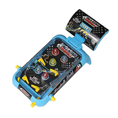 COLOR TREE Pinball Machine for Kids Mini Tabletop Game Arcade Machine with Scorer and Lights and Music, Máquina de Pinball