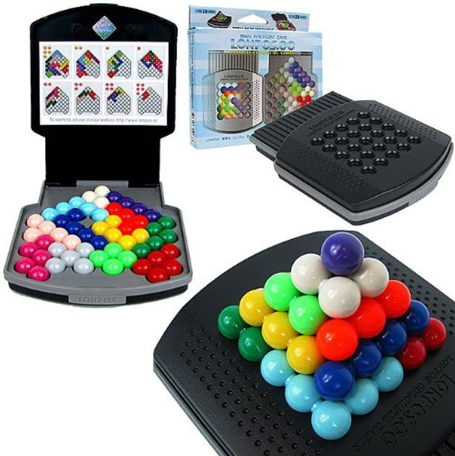 Lonpos Farbeful Cabin 066 Brain Intelligence Game by Trademark Commerce
