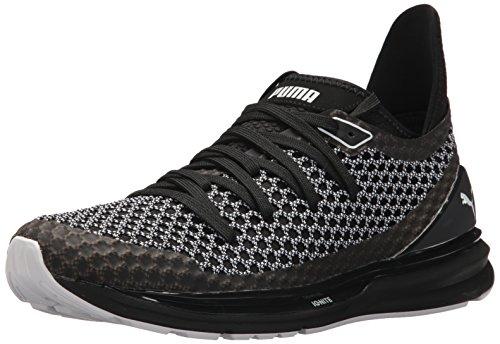 Puma Ignite Limitless Netfit Multi Zapatillas deportivas para hombre, color negro y blanco, 11.5 M US