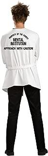 Rubie's Men's Insane Asylum Straightjacket, White, X-Large