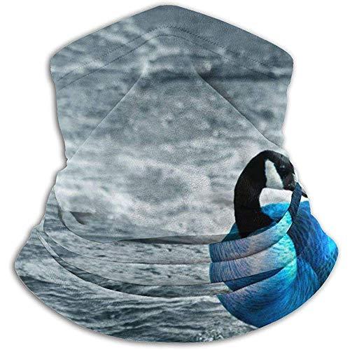 Linger In Blue Duck Neck Gaiter Face Mask Bandana Seamless Headband Ski Riding Running