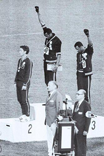 (24x 36) Black Power, Mexico City Olympics 1968Poster