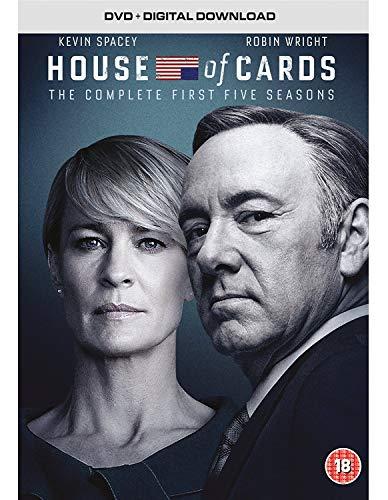 House of Cards - Season 01 / House of Cards - Season 02 / House of Cards - Season 03 / House of Cards - Season 04 / House of Cards - Season 05 - Set [Reino Unido] [DVD]