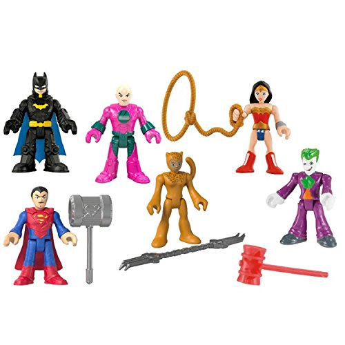 Fisher-Price Imaginext DC Super Heroes vs. Villains Exclusive 6-Pack