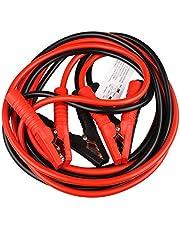 ブースターケーブル 4m 500A 大容量 極太 自動車 バイク 使い方簡単 バッテリー上がりに 12V 24V 両対応