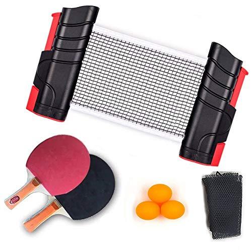 For Sale! TAIZ Portable Table Tennis Set, Table Tennis Retractable Table Tennis Net Net, Indoor or O...