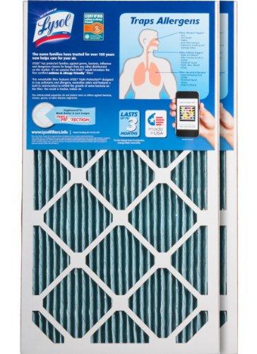 AIRTEVA AC//Furnace Filter 15 1//4 x 29 1//4 x 1 with BioSponge Plus Insert 1