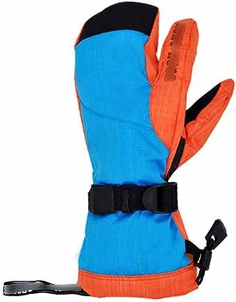 RenShiMinShop Handschuhe mit DREI Fingern im Freien Tragen Wasserdichte Handschuhe Winddicht Kalt, Warme Handschuhe fahrend B07FDZVLFR  | Online-Shop