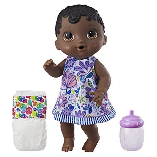 Boneca Baby Alive Hora do Xixi, Hasbro, Negra
