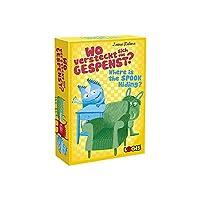 ロジス LOGIS ウェアーイズ・ザ スプーク ハイディング 隠れているモンスターを見つけ出せ! カードゲーム ボードゲーム 記憶力 知育玩具 子供から大人まで 楽しく簡単 / 小学生 家族 日本語説明書付き [並行輸入品]