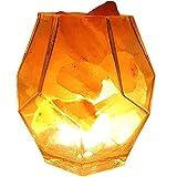 Lámpara De Sal del Himalaya, Purificador De Aire Luz De La Noche del USB LED, Sin Necesidad De Instalación Gran Decoración para La Seguridad del Hotel