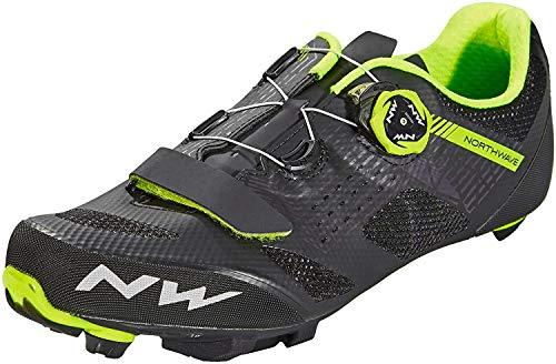 Northwave Sapatos Btt NW Razer BLK/YLW - 46