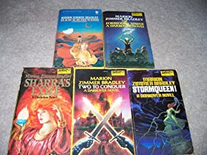Set of Darkover Novels (Five Books) The Forbidden Tower, Two to Conquer, Stormqueen, Hawkmistress, Sharra's Exile
