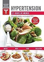Hypertension - 21 jours de menus d'Alexandra Leduc