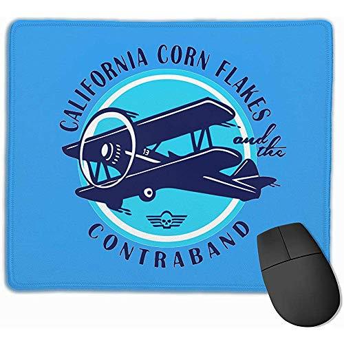 California Dope rechthoek anti-slip rubber muismat Gaming Mouse Pad
