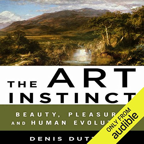 The Art Instinct audiobook cover art