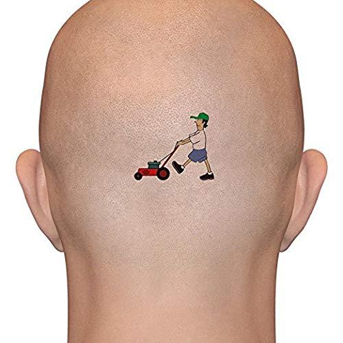 Lawnmower Man Temporary Tattoos (3-Pack)   Skin...